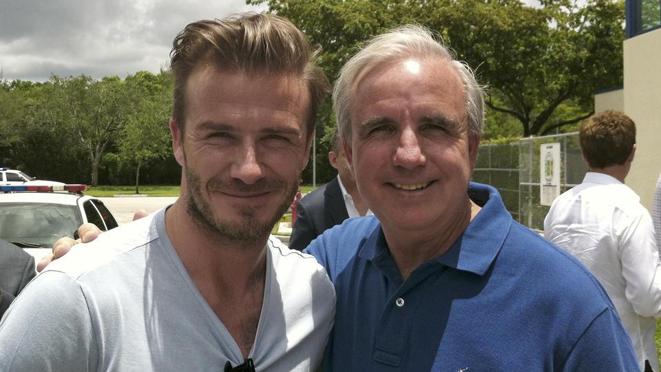 Beckham tours Miami stadiums; city hopes for team  Boston Herald